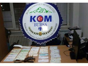Bursa Emniyetinde Sahte Çek Operasyonu