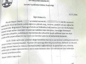 Böbrek hastası tutuklu avukata 3 gün su vermediler