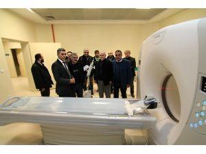 Ünye Devlet Hastanesi'ne Son Model Tomografi