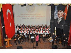 Malkara Belediyesi Türk Halk Müziği Konserinde Balkan Rüzgarı Esti