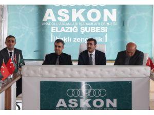 Elazığ ASKON'da Yatırım Olanakları Konuşuldu