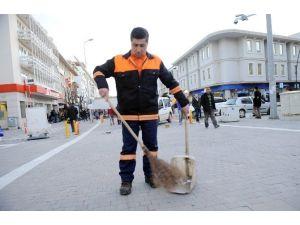 Temizlik İşçisinden Örnek Hareket