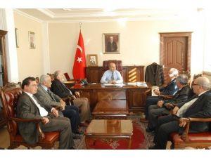 Nemrut Dağı Turizm Tanıtım Derneği'nden Vali Demirtaş'a Ziyaret