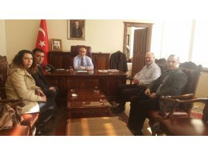 Öğretim Üyesinden Vali Demirtaş'a Ziyaret
