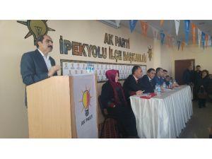 """AK Parti İlçe """"Danışma Meclisi"""" Toplantıları Gerçekleştirildi"""