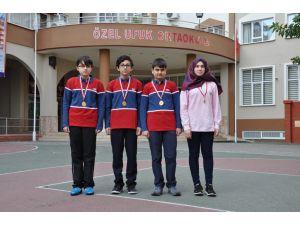 Özel Ufuk Ortaokulu'ndan TEOG'ta 4 Türkiye birinciliği