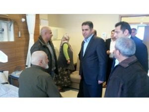 Milletvekili Fırat'tan Esnaf Ve Hastalara Ziyaret