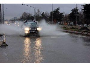 Edirne'de Sağanak Yağmur