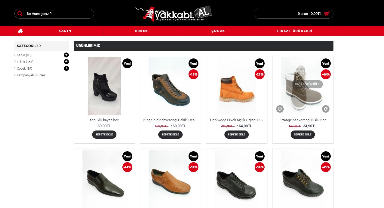 Ayakkabı sektörüne farklılık katmak için geliyoruz.