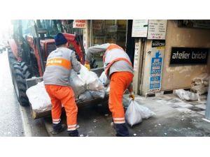 İzmit'te 10 Bin Ton Katı Atık Toplandı