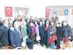 AK Parti'de İlçe Danışma Meclisi Toplantıları Gerçekleştirildi