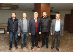 Başkan Karaosmanoğlu, Kerestecileri Ağırladı