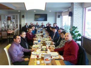 TSO Başkanı Çakır, Bartınlı İşadamlarının Konuğu Oldu