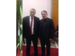 Başkan Öztürk'ten Milletvekili Aras'a Ziyaret