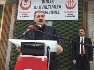 BBP Lideri Destici: Bunlar gizli PKK'lı