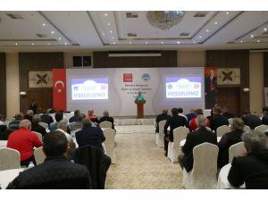 Büyükşehir'in eğitim ve istişare toplantısı Kırşehir'de yapıldı
