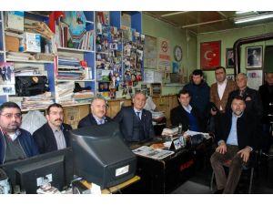AK Parti Milletvekillerinden KKDGC'ye Taziye Ziyareti