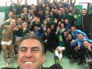 Hamza Hamzaoğlu'ndan Tarihi Selfie