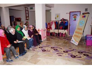 Anaokulu Öğrenci Velilerine Kadın Danışma Merkezi'nden Eğitim