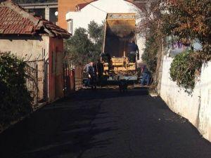 Körfez Belediyesi 36 Mahallede Asfalt Çalışması Yaptı