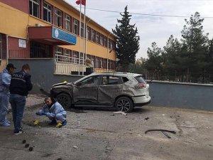 Kilis'te okul bahçesinde patlama: 1 ölü, 3 yaralı