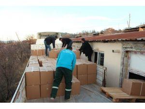 Çal İlçesinden Bayırbucak Türkmenlerine Yardım