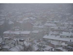 Bursa'da Beklenen Kar Yağışı Başladı