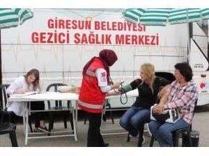 Giresun Belediyesi Sağlık Birimi 8 Bin Hastaya Hizmet Verdi