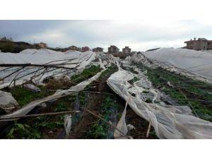Alanya'da Hortum Seraları Vurdu