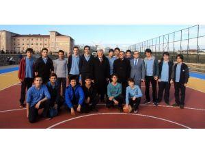 """Başkan Karaosmanoğlu, """"Potalı Okullarla Eğitime Renk Geldi"""""""