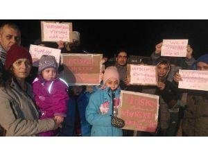 Norveç'e sığınan Suriyeliler ölüm orucunda