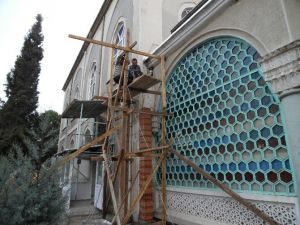 Osmancık'ta Büyük Caminin Isıtma Sistemi Yenilendi