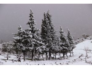 Manisalı Kar Yağışının Keyfini Çıkardı
