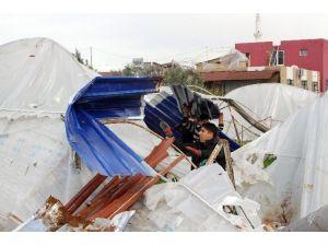 Antalya'da Hortum Sonrası Yaralar Sarılıyor