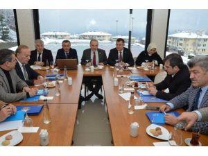 """Başkan Yemenici """"Toplantılar Yatırımlar İçin Önemli"""""""