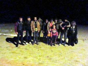 Aydın'da 142 Suriyeli Göçmen Yakalandı
