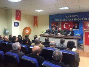 AK Parti Boğazkale Ve Sungurlu İlçe Danışma Meclisi Toplantısı