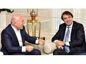 Milletvekili Aydemir Ve Başkan Genç, Sekmen'i Ziyaret Etti