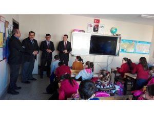 Keçeli Ve Özdemir'den Perşembe Belde'sindeki Okullara Ziyaret