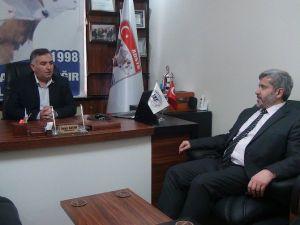 Rektör Şahin'den Başkan Kayan'a Ziyaret