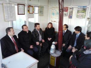 AK Heyetten Ortaköy'e Ziyaret