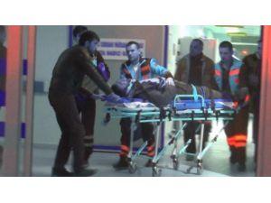 İş Kazasında Ağır Yaralandı