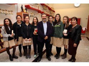 Yazar Ahmet Ümit Özel Sanko Okullarında