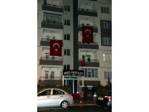 Şehidin Kayseri'de Ki Evinde Hüzün Hakim