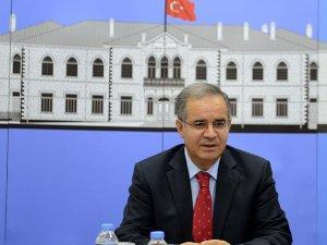 Kilis Valisi Tapsız: Füzenin geldiği noktaya 54 top atışı yapıldı