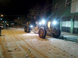 Seydişehir Belediyesi Kar Tedbirlerini Alarak Çalışmalara Başladı
