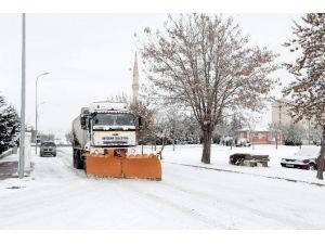 Nevşehir'de Tuzlama Çalışmaları Aralıksız Sürüyor