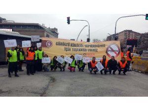 Trafik Gönüllüler İçin Durdu