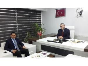 Karaduman'dan BİK Müdürü Özer Akoğlu'na Ziyaret