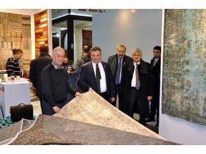 Domotex Halı Fuarında Tufte Ve El Dokuma Halıları Ve Türk Kilimleri İlgi Görüyor